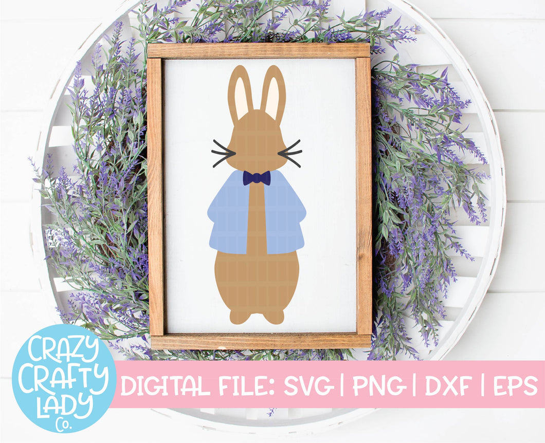 Peter Rabbit SVG Cut File