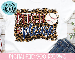 Pitch Please PNG Printable File