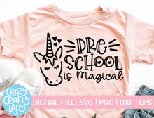 Load image into Gallery viewer, Unicorn School SVG Cut File Bundle