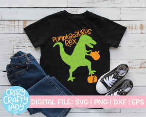 Pumpkasaurus Rex SVG Cut File