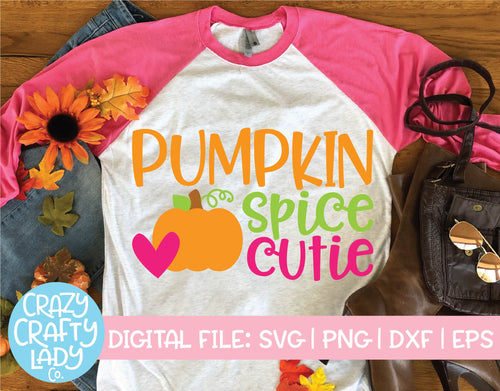 Pumpkin Spice Cutie SVG Cut File