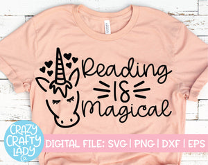 Reading Is Magical SVG Cut File