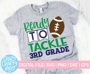 Football School SVG Cut File Bundle