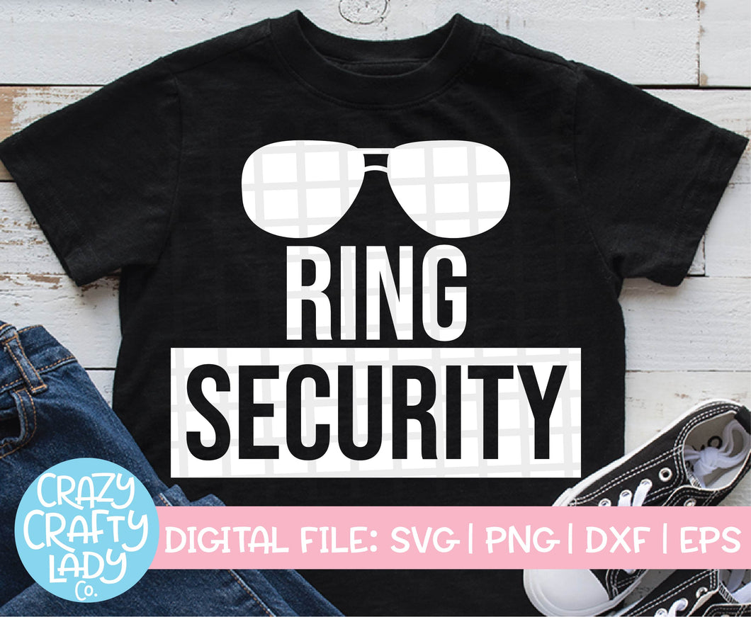 Ring Security SVG Cut File