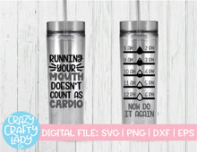 Load image into Gallery viewer, Water Bottle Tracker SVG Cut File Bundle