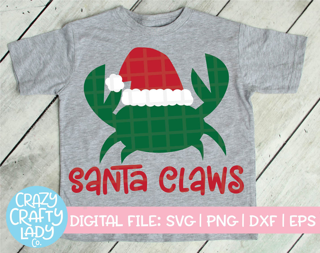 Santa Claws SVG Cut File