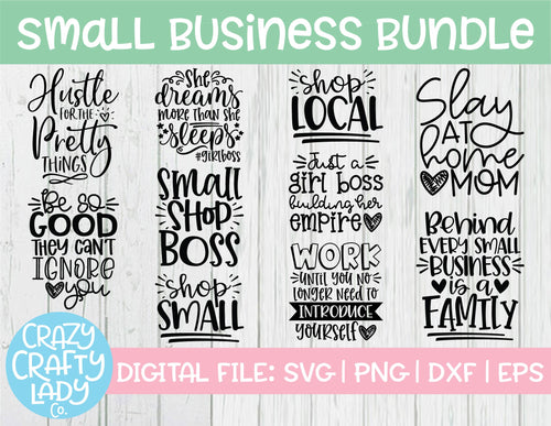 Small Business SVG Cut File Bundle
