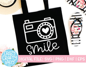Smile SVG Cut File