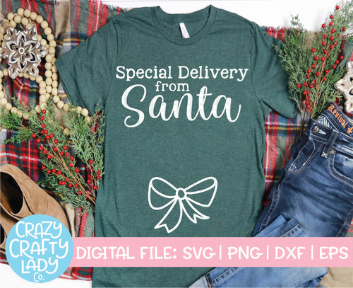 Special Delivery from Santa SVG Cut File