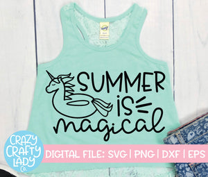 Summer Is Magical SVG Cut File