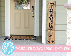 Thankful SVG Cut File