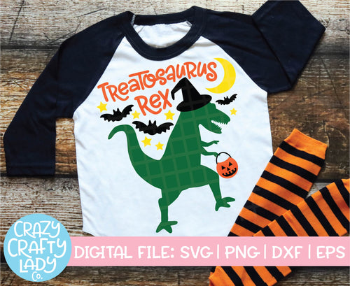Treatosaurus Rex SVG Cut File