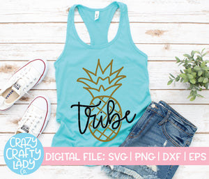 Pineapple Tribe SVG Cut File