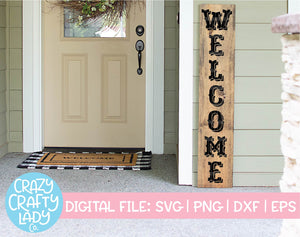 Welcome Sign SVG Cut File Bundle