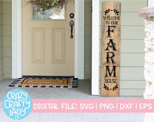 Load image into Gallery viewer, Big Porch Sign SVG Cut File Bundle