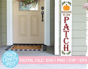 Holiday Porch Sign SVG Cut File Bundle