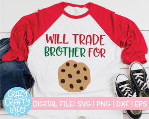 Will Trade for Cookies SVG Cut File Bundle