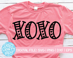 XOXO SVG Cut File