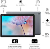 HUAWEI MediaPad M5 Lite Without Pen, Tablet Wi-Fi, 10.1 Inches, Mediatek 2.36 GHz, 3 GB, 32 GB, Android 8.0 Oreo+Emui 8.0, Gris, Negro Tablets iontec.mx