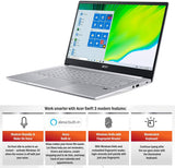 "Acer Swift 3 Thin & Light Laptop de 14"" Full HD IPS, AMD Ryzen 7 4700U Octa-Core con Radeon Graphics, 8GB LPDDR4, 512 GB NVMe SSD, WiFi 6, Backlit KB, Lector de huellas dactilares, Alexa Integrado"