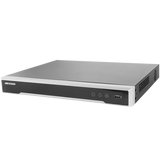 NVR 12 Megapixel (4K) / 16 canales / H.265+ / Hik-Connect / Switch PoE 300 mts / 2 HDD / HDMI en 4K / Soporta POS - iontec.mx