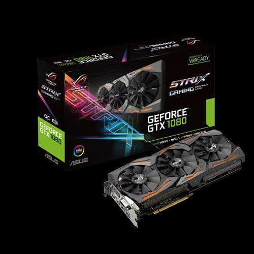 Tarjeta de video ASUS GeForce GTX1080 ROG STRIX 8GB Tarjeta de video iontec.mx