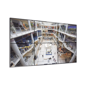 "Video Wall Skyworth 2x3, Pantallas de 55"" Full HD 1080p con bisel ultra delgado 3.5 mm, incluye gabinete para instalación en piso. - iontec.mx"