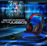 Diadema Profesional Gamer USB audio USB 5.1 Virtual.