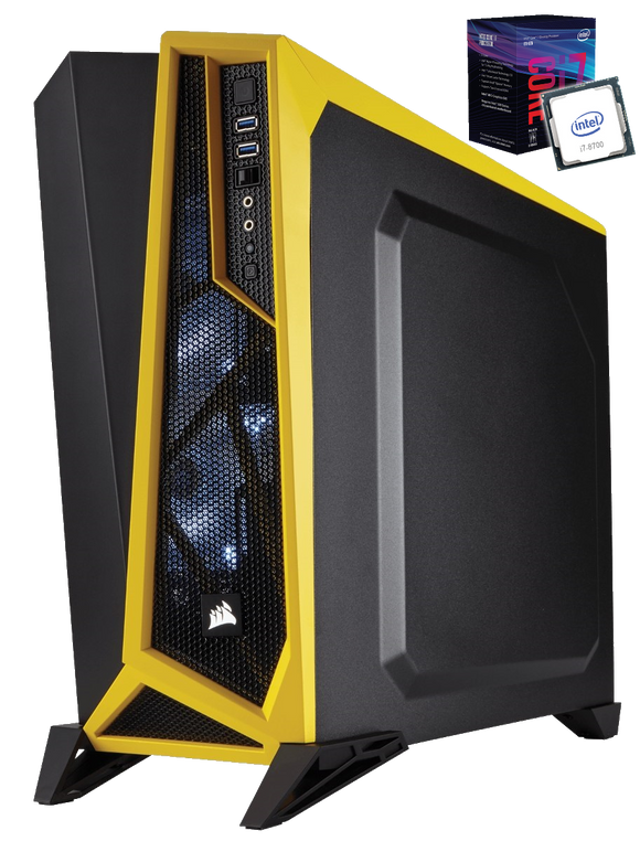 PC CORE I7 8700 GEFORCE 1060 6GB SSD 480 RAM DDR4 16GB PC iontec.mx