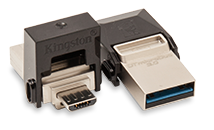 USB 3.0  KINGSTON 64GB DATA TRAVELER MICRODUO USB iontec.mx
