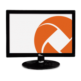 MONITOR 15.4LED QIANQM1538001 HD VGA 1280X 800 Monitor iontec.mx