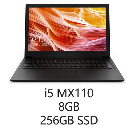 Xiaomi Mi Notebook 15.6'' Intel Core Laptops 128GB SSD+1TB HDD i7/i5 NVIDIA GeForce MX110 Dedicated Card English Win 10 Laptop Laptop iontec.mx
