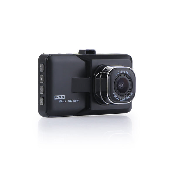 Dash Camera Car DVR Dash Cam Grabadora de video LCD FHD 1080P Videocámara Visión nocturna / Detección de movimiento / Grabación en bucle 1.3MP 360 * Gadget iontec.mx