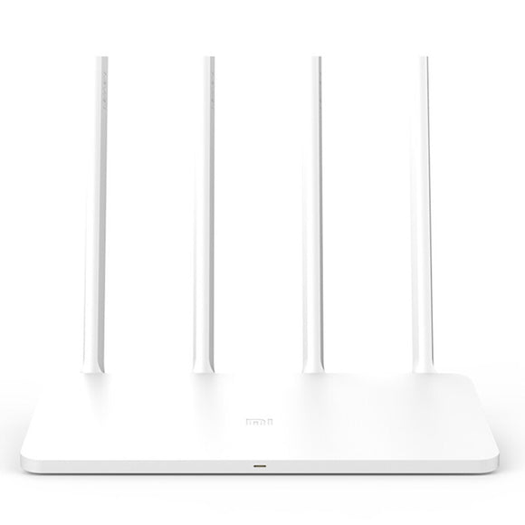 Xiaomi MI WiFi Wireless Router 3C 2.4GHz Smart Mini WiFi Repeater 4 Antennas 802.11n 300Mbps APP Control Support for iOS Android  iontec.mx
