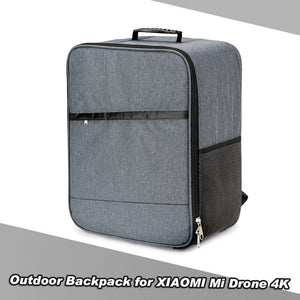 Outdoor Shockproof Soft Shell Carry Bag Portable Backpack RC Shoulder Bag for XIAOMI Mi Drone 4K 1080P FPV Quadcopter - iontec.mx