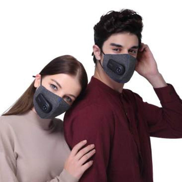 Xiaomi Purely Anti-Pollution Air Sport Mask with PM2.5 550mAh Rechargeable Filter Three-dimensional Structure Excellent Purify  iontec.mx