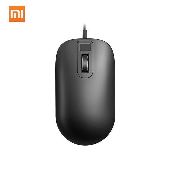 Xiaomi Jessis Smart Fingerprint Mouse Safe Portable 125Hz 8G For Windows 8.1 Fast Recognition Mouse for Office School Gaming Mouse iontec.mx