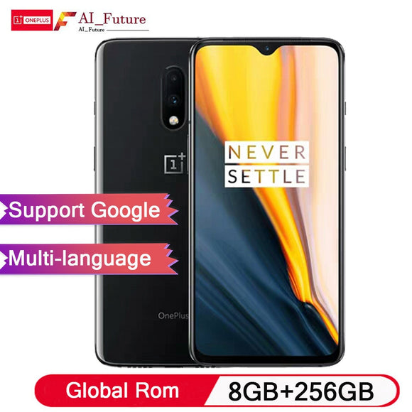 OnePlus 7 8GB RAM 256GB Global Rom Smartphone Snapdragon 855 Octa Core 6.41 inch Display Fingerprint 48MP+16MP Dual Cameras - iontec.mx