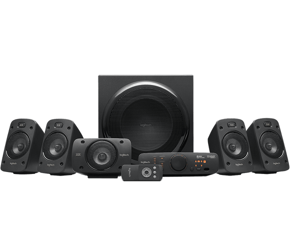 BOCINAS LOGITECH Z906 5.1 SURROUND Audio iontec.mx