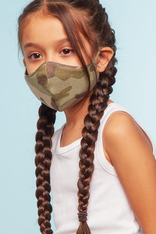 Final Sale - Olive Kids Face Mask