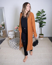 Load image into Gallery viewer, Camel Duster Cardigan - The Local Women's Boutique Clothing