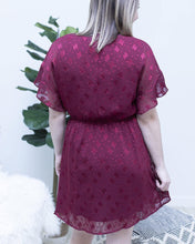 Load image into Gallery viewer, Flower Lace Chiffon Dress - The Local Women's Boutique Clothing