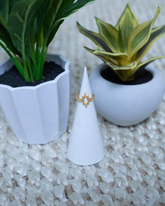 Gold Starburst Ring - The Local Online Women's Boutique
