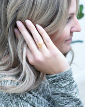Load image into Gallery viewer, Gold Starburst Ring - The Local Women's Boutique Clothing
