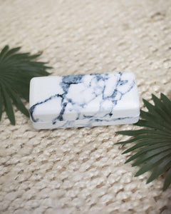 Marble Sunglass Case