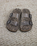 Clear Cheetah Slip-On Sandals