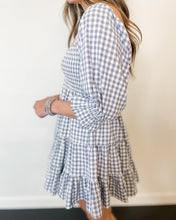 Load image into Gallery viewer, Gingham Tier Dress - The Local Women's Boutique Clothing