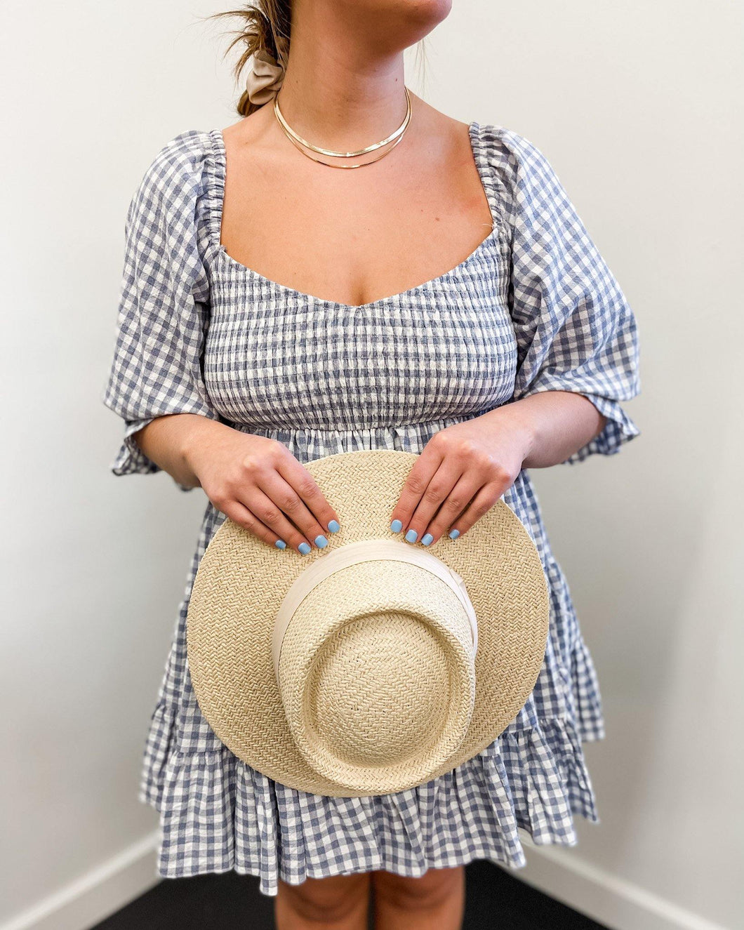 Gingham Tier Dress - The Local Women's Boutique Clothing