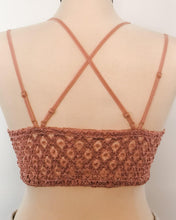 Load image into Gallery viewer, Rose Crochet Lace Bralette - The Local Women's Boutique Clothing