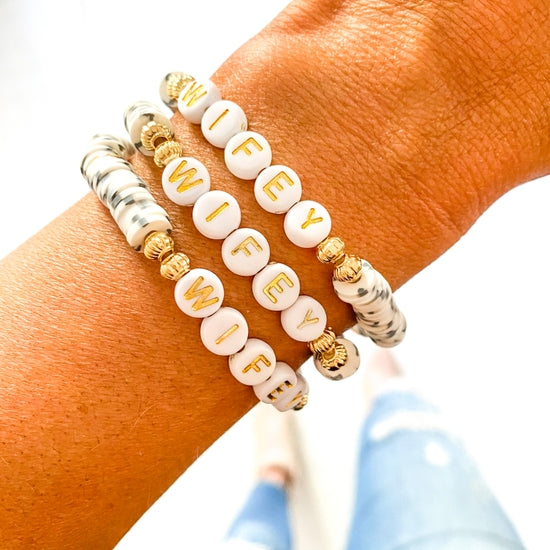 wifey bracelet wifey jewelry wife accessories wifey accessories bride to be gift bride gift just married gift boutique clothing website women boutique clothing stores boutique clothing women Boutique women's clothing Boutique clothing boutique wear how to accessorize womens boutiques trendy clothing boutiques boutiques in Indiana women boutique clothing